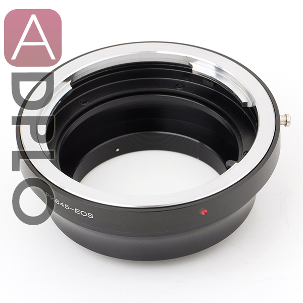 Lens Adapter work for Pextax 645 to Canon EOS 5D Mark III 5D Mark II 1Ds