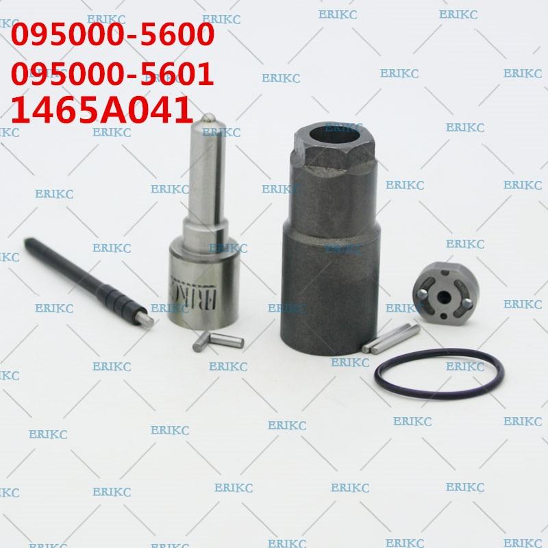 ERIKC 095000 560# Fuel Injector 5601 Repair Kits 19# Nozzle DLLA145P870 093400 8700 for 1465A041 Mitsubishi L200 4D56 Euro4