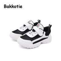 Bakkotie 2018 Spring Autumn Baby Girl Fashion Child Leisure Shoe Boy Elastic Band Casual Breathable Sneaker