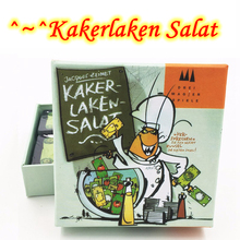 Kakerlaken: Salat, Poker, Royal, Suppe, Mogel Motte