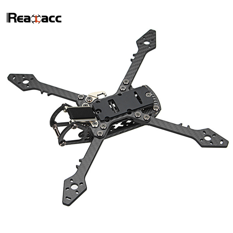 Realacc Real3 250mm Wheelbase 4mm Arm Carbon Fiber Frame Kit for RC Drone FPV Racing Multicopter Models Motor ESC Camera 130g rc drones quadrotor plane rtf carbon fiber fpv drone with camera hd quadcopter for qav250 frame flysky fs i6 dron helicopter