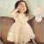 Freeship 2017 Mais Novo Verão Bonito Rendas Bebê Meninas Vestido Coreano Estilo Moderno E Retro Princesa Roupa Dos Miúdos das Crianças Traje