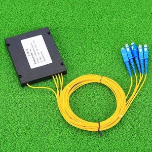 Image 5 - KELUSHI NEUE 1x4 Telecom PLC Kassette SC Kompakte Optische Splitter Planaren Wellenleiter Faser Optische Verzweigung Gerät