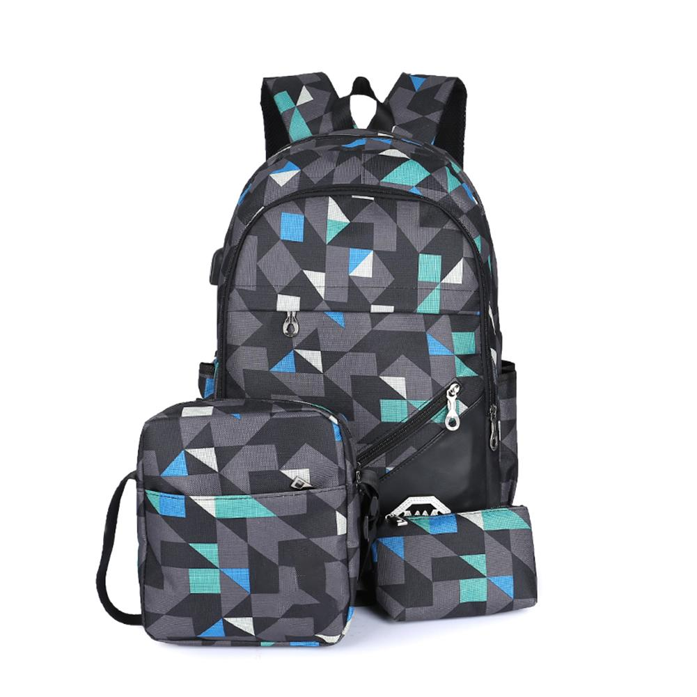 Boys Girls Backpack Rucksack Hiking Camping Bag School College Sports Gym Bag