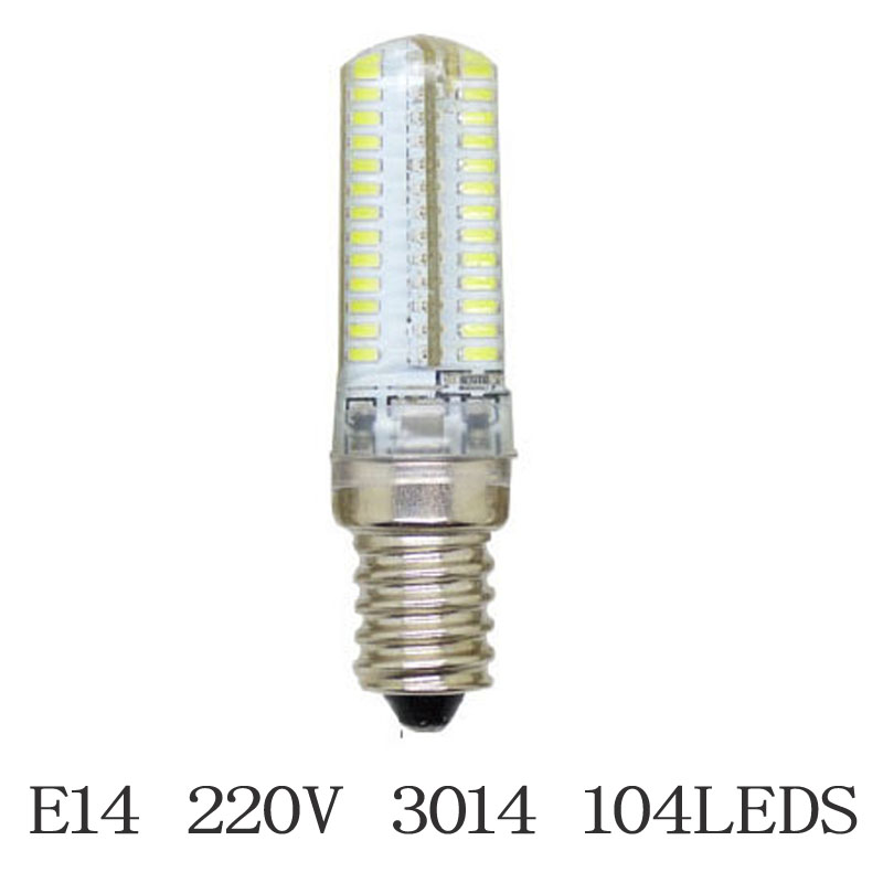 Newest Mini E14 Dimmable LED Crystal Chandelier Lamps SMD3014 2835 Silicone Light AC220V 3W-15W LED Corn Bulb Pendant Spotlight mini led lampada dimmable g9 e14 cob 9w led lights silicone crystal lamps ac220v chandelier crystal light warm cool white bulbs