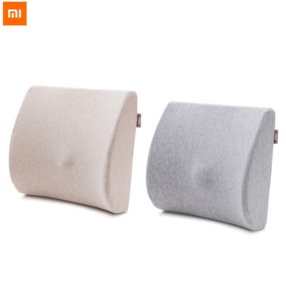 Original Xiaomi Mijia 8H Memory Cotton Lumbar Pillow Soft Comfortable Protect Lumbar For Office Car Rest Relax