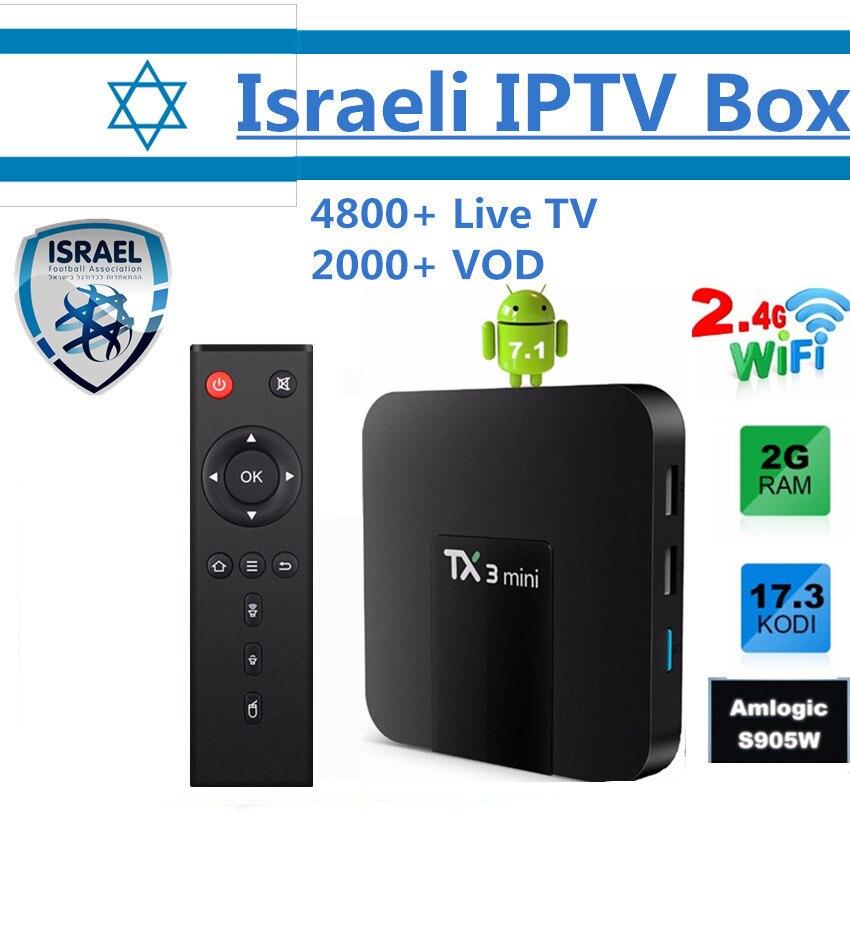 Android 7.1 IPTV Box TX3 mini + World Pro IPTV Subscription Best Nordi Europe American Canada Exyu Latino Indian UK Germany IPTV iptv evpad pro