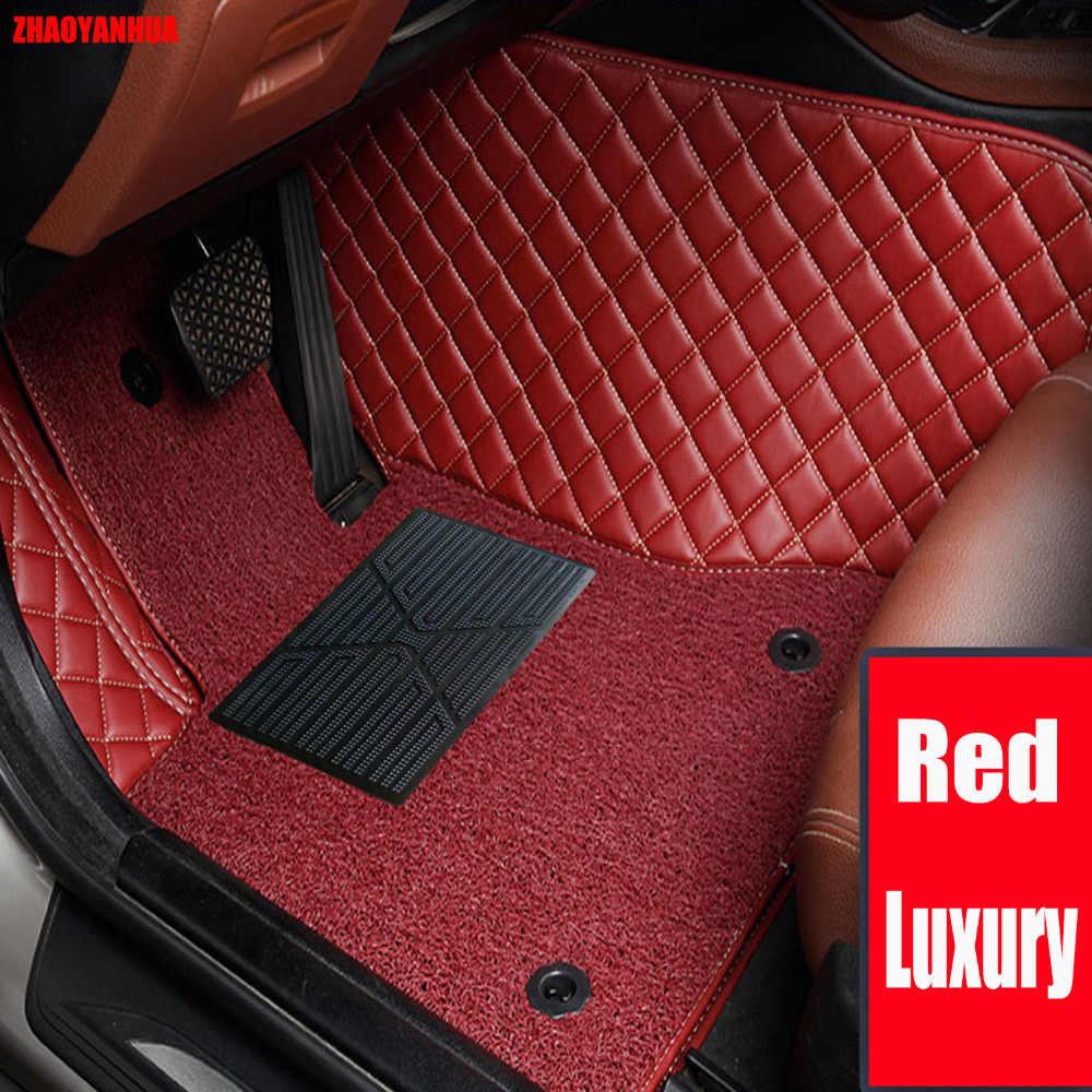 ZHAOYANHUA Voiture tapis de sol pour Volvo C30 S40 S60L S80L V60 XC60 XC90 6D voiture-style heavy duty tapis étage liner