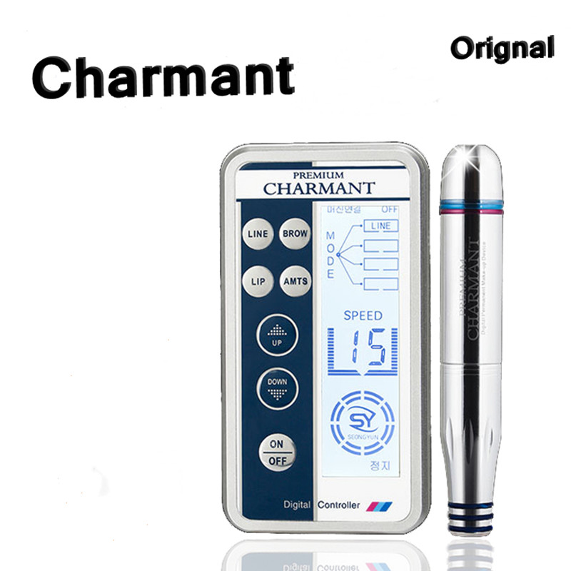 Charme Princesse Permanent Makeup Pen Digital Premium Machine , Intelligent Control Panel, Spiral Interface Cartridge Power Charme Princesse Permanent Makeup Pen Digital Premium Machine , Intelligent Control Panel, Spiral Interface Cartridge Power