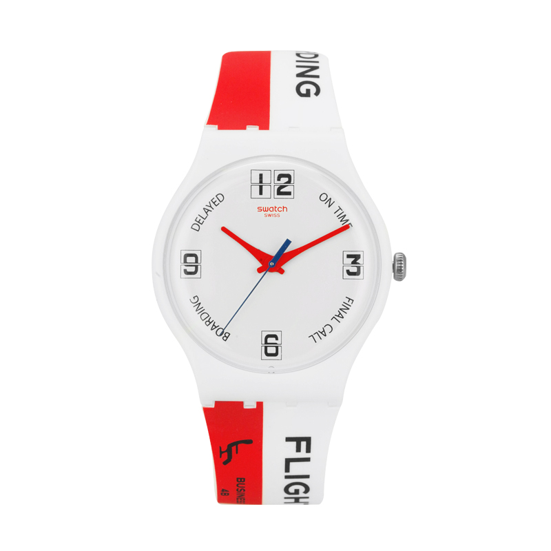 Swatch Watch Original Colorful Series Colorful Quartz Watch SUOW141 swatch original colorful quartz watch suob135