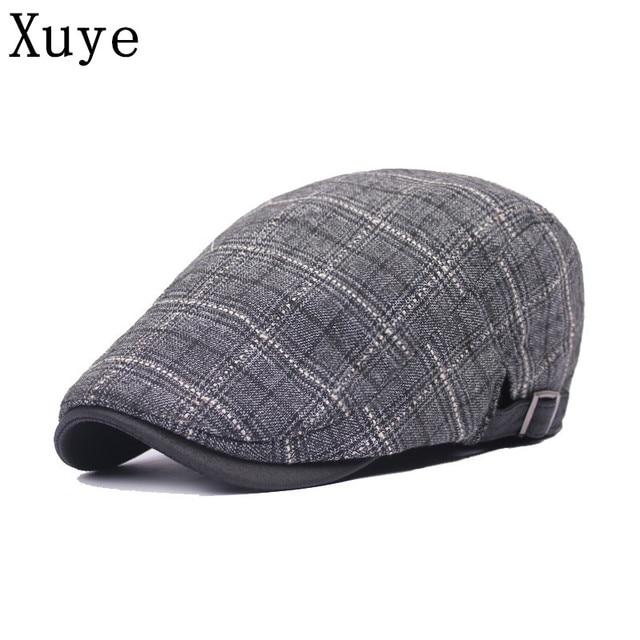 XUYE fashion England style man women visor Hats spring summer headwear cap  baseball men s sun girl 3471b629ba55