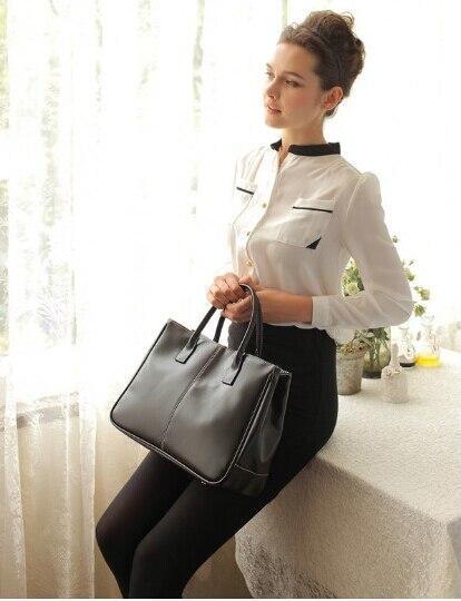 Simply Classic Fashion Leather Women Handbag  Shoulder Bags Ladies Large Capacity Ladies Shopping Bag Bolsa