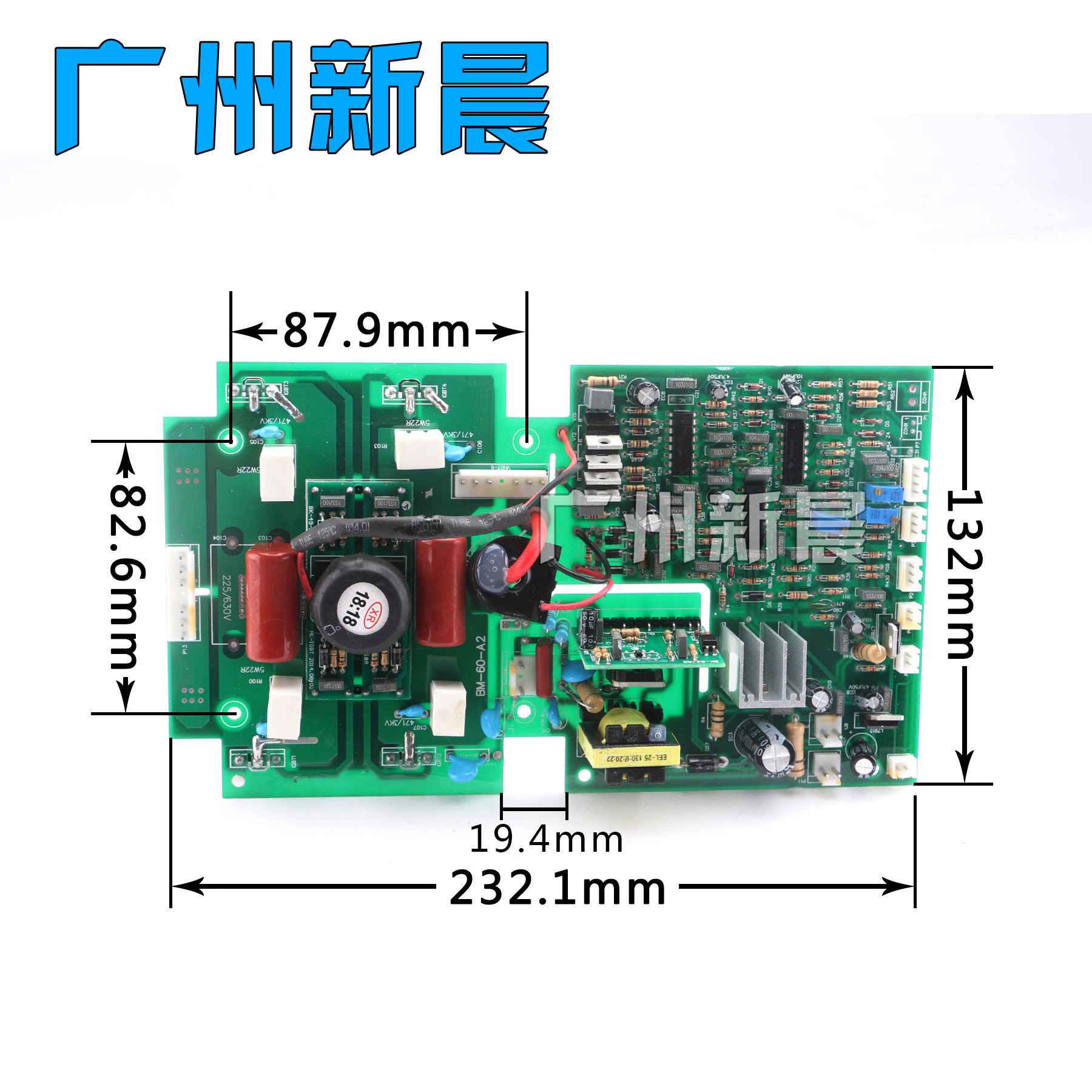 Double-power ZX7-315S universal inverted DC welding machine PCB fittings board board circuit board