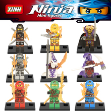 NEW XINH X0118 Ninjagoe Superheroes Building Block toys for Children's favorite toy compatible with Classical Minifigures
