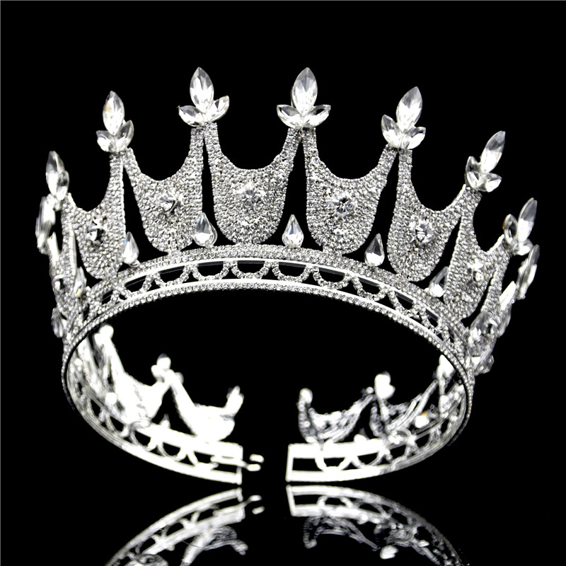 Fashion Tiaras and Crowns Wedding Hair Jewelry Bridal Crown Tiara for Women Diadem Hair Ornaments Head accessories Prom kawaii girl kids princess crown hair clip pin hairpin accessories for girls hair clips hairclip barrette tiara ornaments st 20