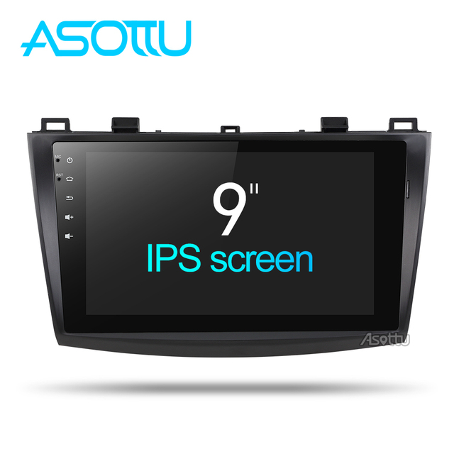 Asottu MMZD9081 9 inch android 8.1 car dvd for MAZDA 3  Touch Screen Octa core gps navigation car gps player Multimedia Stereo