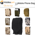 Huawei Honor 7 Phone Bag Outdoor MOLLE Army Camo Camouflage Bag Hook Loop Belt Pouch For Huawei Honor 7 /Elephone S2 Free Ship