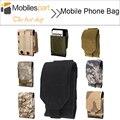 Huawei honor 7 teléfono bolsa molle aire libre bolsa de camuflaje del ejército de camo gancho y bucle de correa funda para huawei honor 7/elephone s2 envío nave