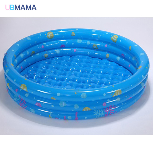 Children S Home Use Three Layers Inflatable Round Swimming Pool Ocean Ball Kids Paddling Safety