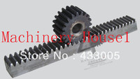 2 mod cremallera 41-50 espolón dientes maquinaria de precisión de engranajes industria de acero 45 cremallera y piñón endurecimiento de frecuencia spur gear