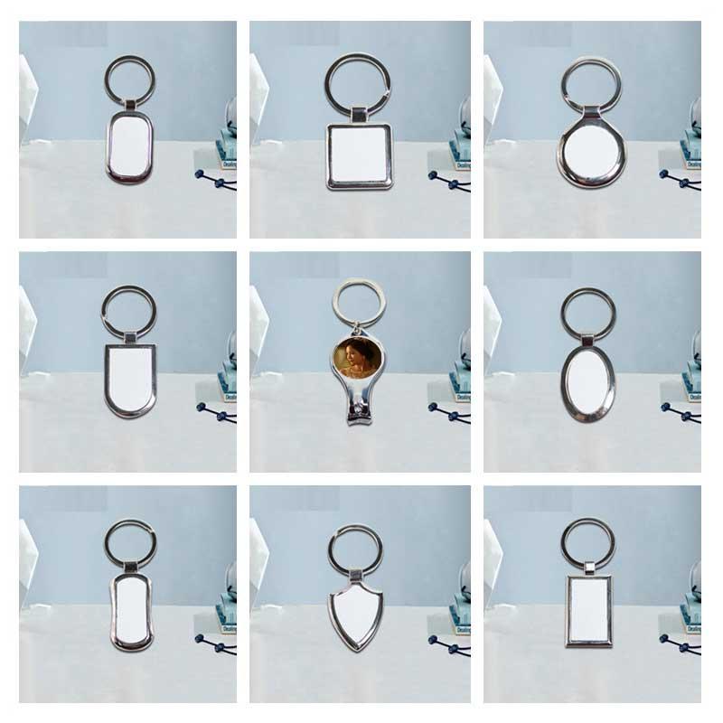 여자를위한 승화 금속 keychains 남자 심장 전송 인쇄 빈 diy 소모품 50 개/몫 nekuyg1-에서열쇠고리부터 쥬얼리 및 액세서리 의  그룹 1