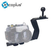 Mcoplus Single Arm Aluminium Diving Handle for Underwater Camera Housings for Canon Nikon Sony Fujifilm a6000 rx100 a5100 a6500
