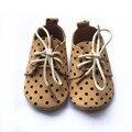 Оптовая мягкие кожаные ботинки новый дизайн детские мокасины детская обувь оксфорд
