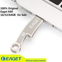 New Fashion Eaget K60 USB 3 0 Flash Drives Pen Drive 32G Knife Ancient Coins Metal