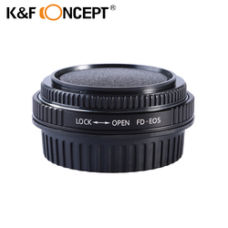 K&F CONCEPT Pro Lens Mount Adapter for Canon FD, New FD, FL Lens to Canon EOS Camera for Canon 1D, 1DS,  Mark III, IV, 1DX, 1DC