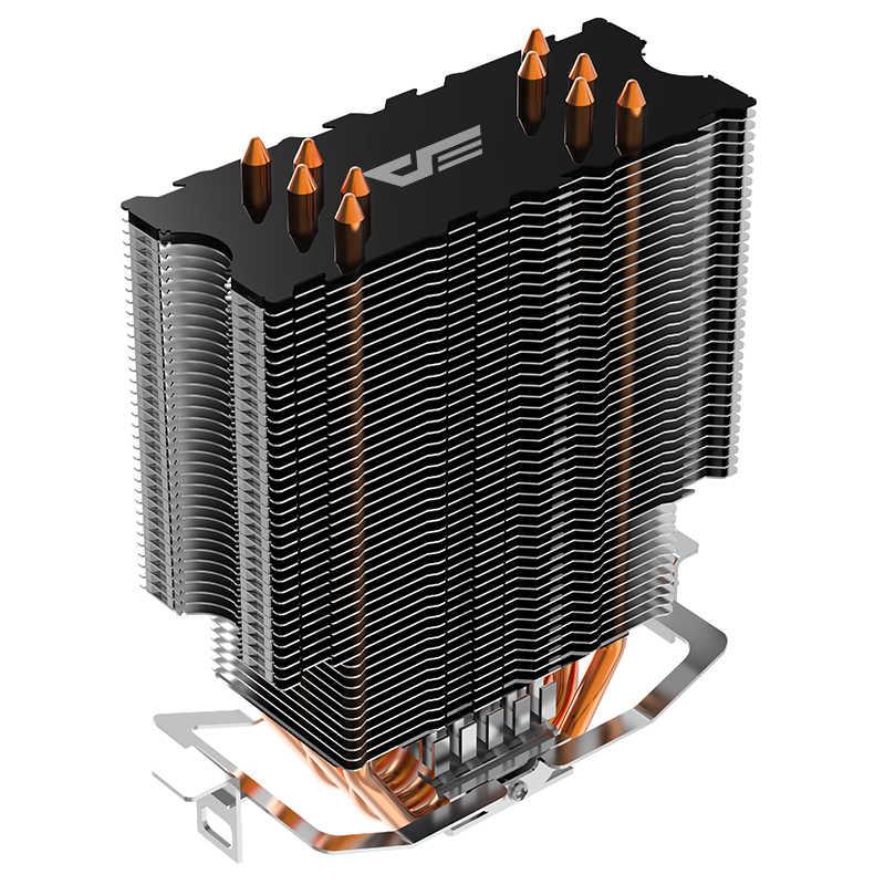 Aigo L5 LED CPU Cooler RBG ventola di raffreddamento AMD Intel 5 Tubi di 120 millimetri PC CPU VENTOLA DELLA CPU silenziosa doppio RGB anello