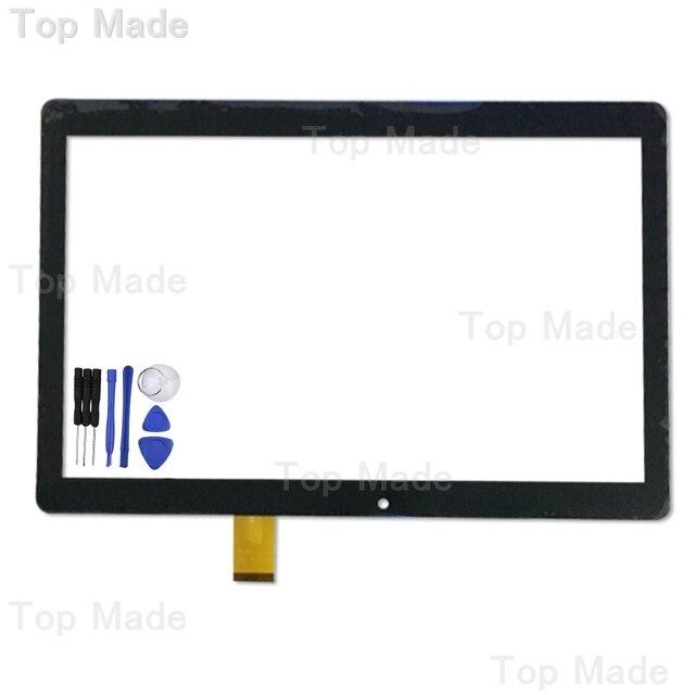 10.1 ''дюймовый Сенсорный Экран для Digma Plane 1601 3 Г PS1060MG Tablet PC Черный Панель Дигитайзер Замена Датчика Бесплатная доставка