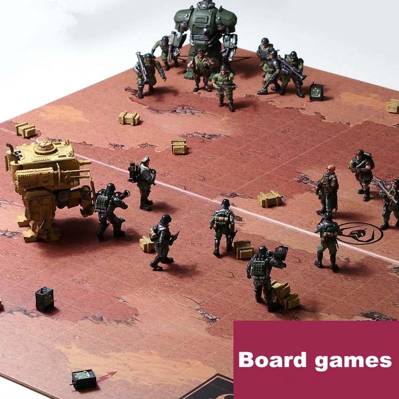 TOY TOY  the 1rd generation Robot soldiers   Table Game