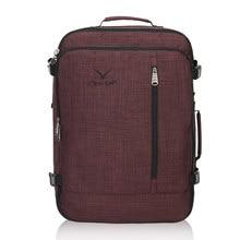 VEEVANV Brand Design 38L Flight Approved Weekender Carry On Backpacks For Men Women Travel Large Luggage Bag