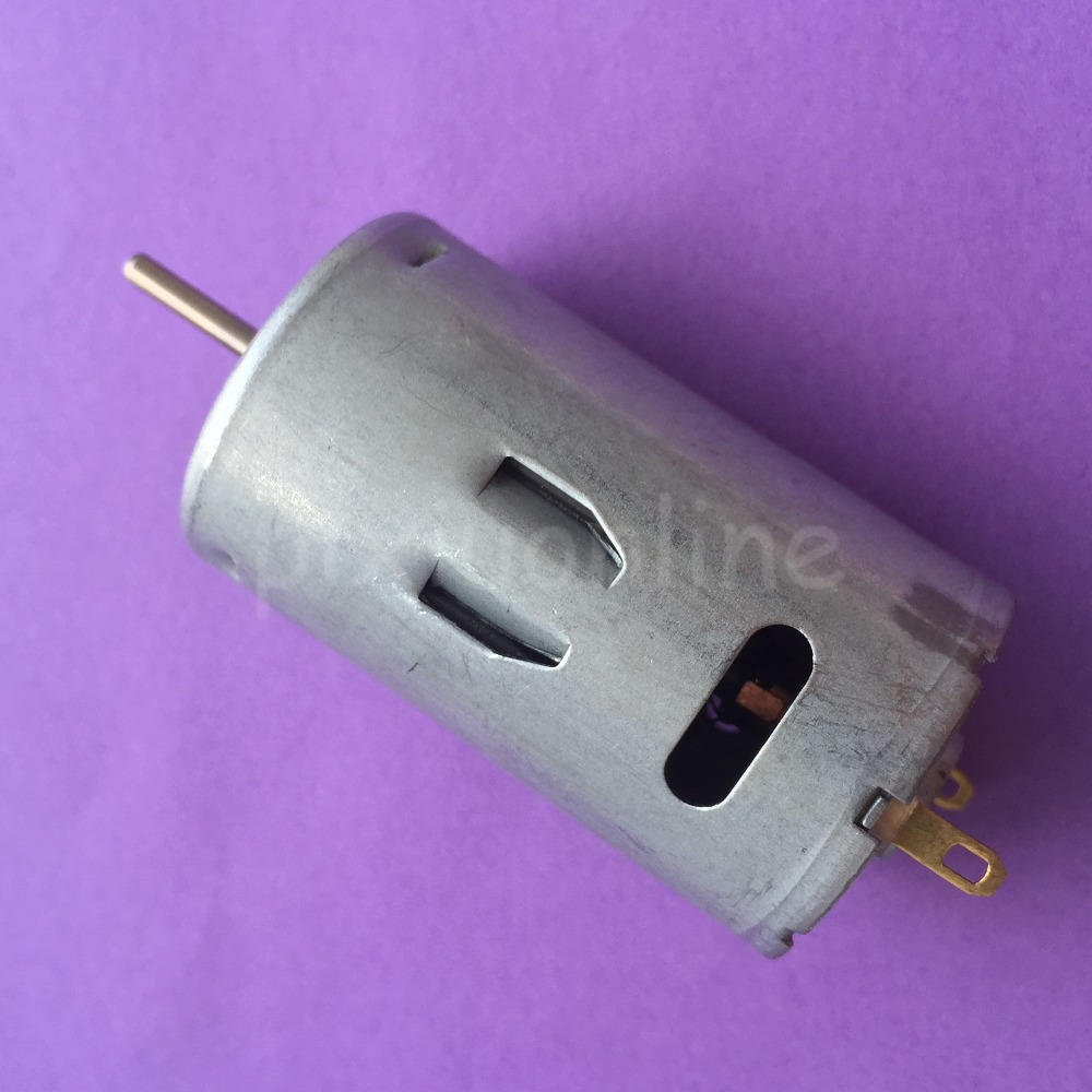 K215Y DC12-24V <font><b>390</b></font> DIY Mini DC <font><b>Motor</b></font> 13000-26000RPM High Speed Great Torsion image