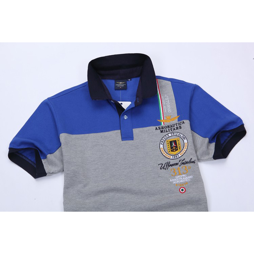 96a190330 New Fashion mens polo shirt brand Aeronautica Militare men polo shirt horse  logo casual air force one polos masculino Z-in Polo from Men's Clothing on  ...