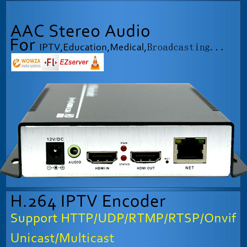 ESZYM H 264 IPTV Encoder HDMI Video Encoder HDMI Encoder Live Stream Broadcast works with wowza xtream codes youtube in Radio TV Broadcast Equipments from Consumer Electronics