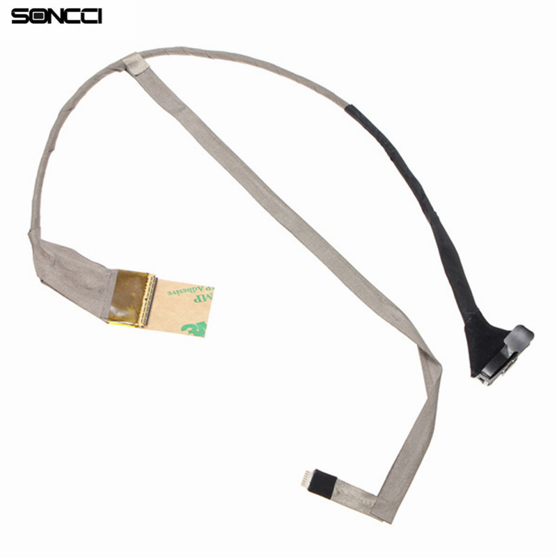 Soncci LCD Screen Display Cable For HP Pavilion G6 G6-1000 LVDS CABLE Repair parts for HP G6 G6-1000 LCD video cable original laptop display cable new for samsung rc710 ba39 01019a notebook vga cable screen lcd lvds cable flex