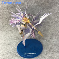 Anime Digimon Monster Action Figure Angewomon Holly Arrow Digimon Adventure Collectible Toy Kids Toys for Children Figma Doll PG