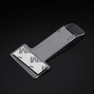 Image 2 - 1Pc רכב רכב חניה כרטיס בעל היתר מדבקת השמשה חלון אטב ערכת רכב אביזרי רכב חניה כרטיס קליפים