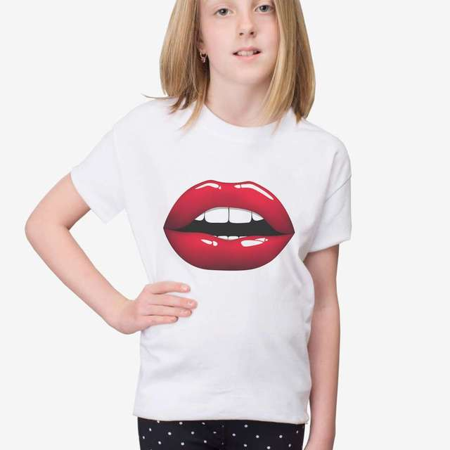 a904427f277c kids girl summer short sleeve outfit tops tees round neck casual t ...