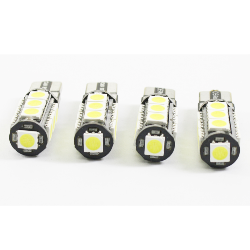 2 st T10 Led W5W CANBUS INGEN FEL 168 921 13SMD 5050 LED billäslampa - Bilbelysning - Foto 6