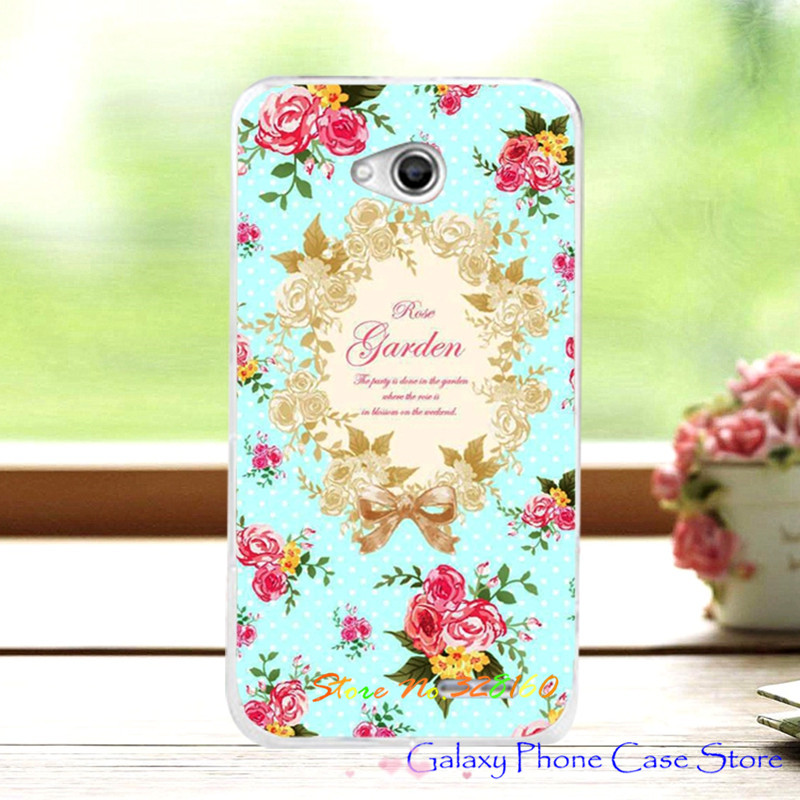 Women Girls' Beautiful Floral Painting Case For LG L70 D320 D325 L65 Dual D285 D280, Colorful Flowers Skin Back Cover For LG L70