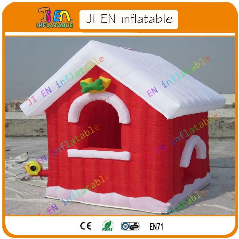 Kostenloser Versand weihnachten aufblasbare santa grotte, dekoration ...
