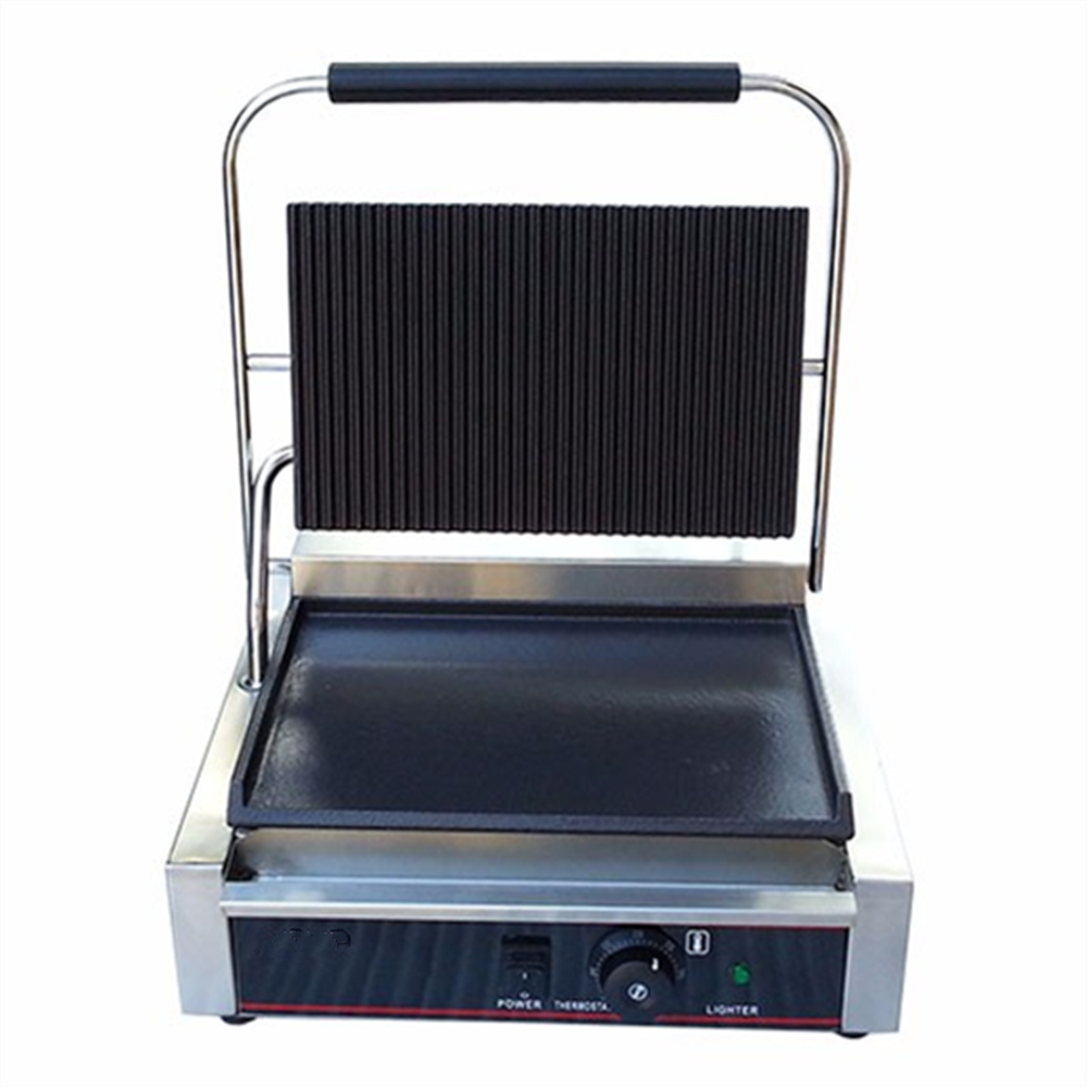 Best Price Panini Grill Sandwich Contact Grill Electric Griddle Double Heads Groove Plates For Sale best price 5pin cable for outdoor printer