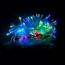 10M/20M 100/200 LEDs Led String Light Waterproof Holiday Christmas Wedding Garden Party Decoration String Decorative Light