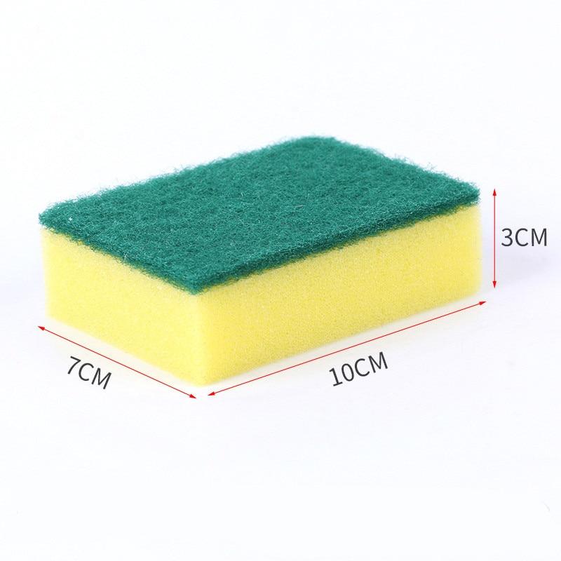 10 Unids de alta densidad esponja cocina esponja limpia frote baño - Bienes para el hogar - foto 2