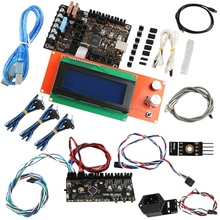 3D Printer Accessories Prusa I3 Mk3 Motherboard + Display + Mmu2 Control Board + Cut Detection Kit 95% new for midea refrigerator pc board control panel motherboard display board bcd 556wkm bcd 555wkm on sale
