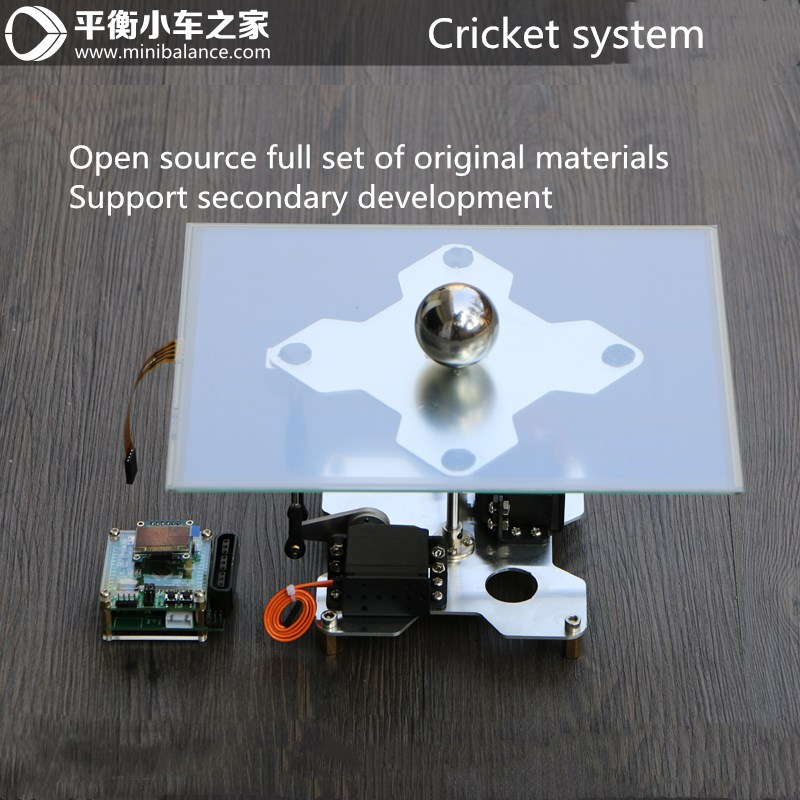 Cricket Control System Rolling Ball System Electronic Design Ball Plate Balance Ball PID