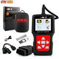 New Truck Heavy Duty Car Diagnostic Tool Ancel HD510 Universal OBD2 Car Truck Scanner Automotivo 2 in 1 with Battery Monitor