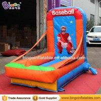 Прочный 1.3x2.5x2 m надувные Бейсбол бросали Тип карнавал игры для взрослых и детей игрушки съемки вышибала бесплатная доставка